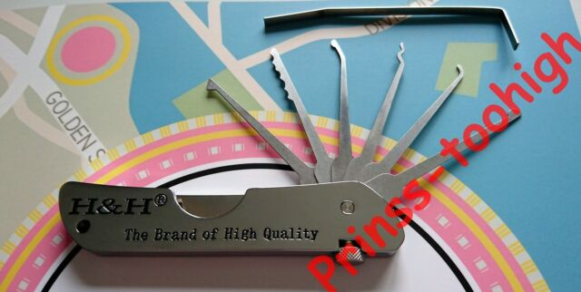 BEST open door lock picking set tools lockpicking locksmith unlock crochetage !