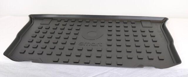 BRABUS Kofferraummatte smart forfour 453 Ziernaht silber