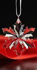 SWAROVSKI CRYSTAL CHRISTMAS 2014 SMALL CLEAR ORNAMENT 5059028 MINT BOXED RETIRED