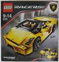 Lego Racers 8169 Lamborghini Gallardo Lp 560-4 Sealed - Ships World Wide