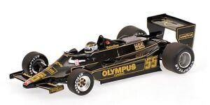 Minichamps 100 780055 Lotus Ford 79 F1 Modèle Voiture J P Jarier Canada Gp 1978 1:18 4012138117686