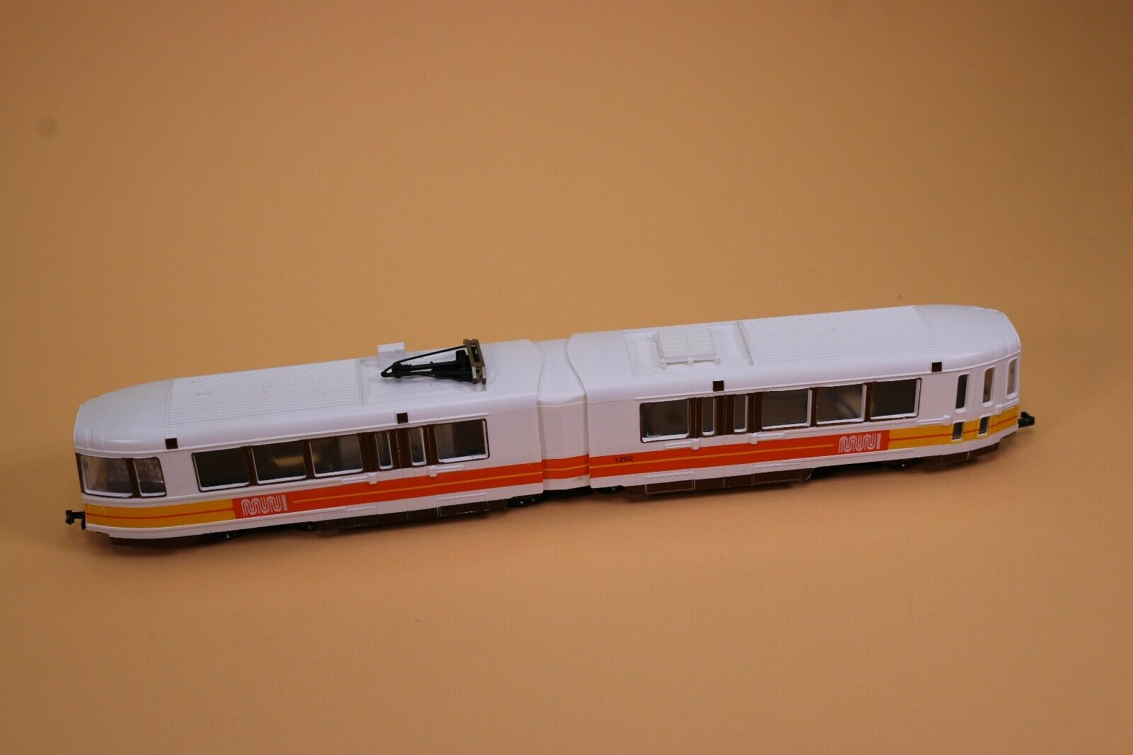 ZB364 Mehano train Trolley Ho T034 27387 Boeing verdeol San Francisco Municipal