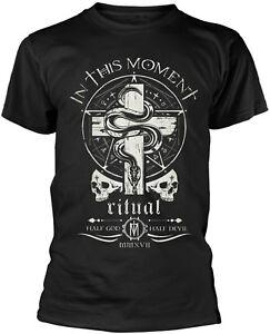 IN-THIS-MOMENT-Serpent-Logo-Crest-Half-God-Half-Devil-T-SHIRT-OFFICIAL-MERCH
