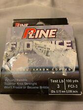 P-Line SS Leader 100/% Pure Fluorocarbon Salmon /& Steelhead 20lb//100yd SSFL100-20