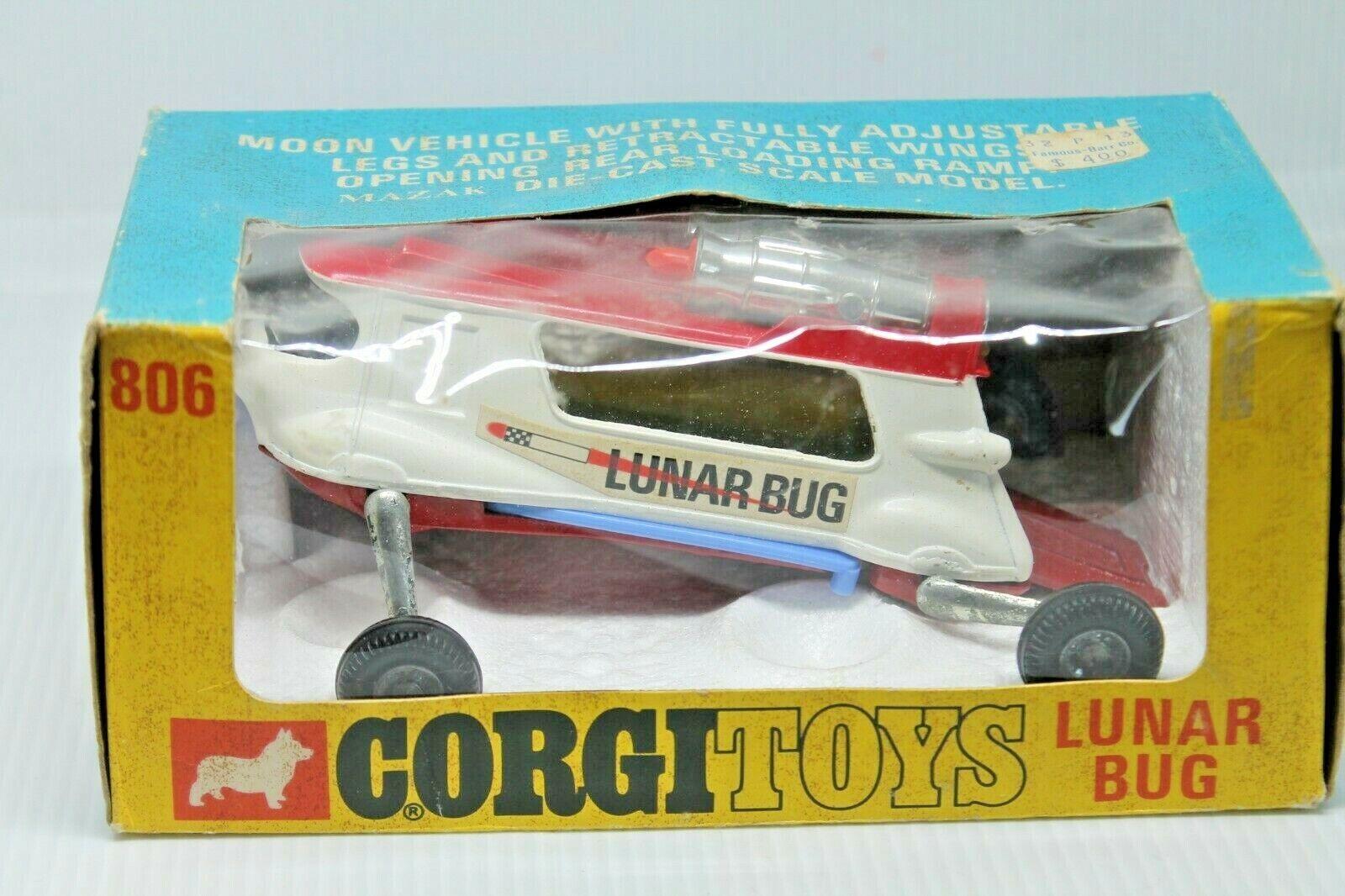 CORGI TOYS 806  Lunar Bug  Neuf dans sa boîte  ORIGINAL