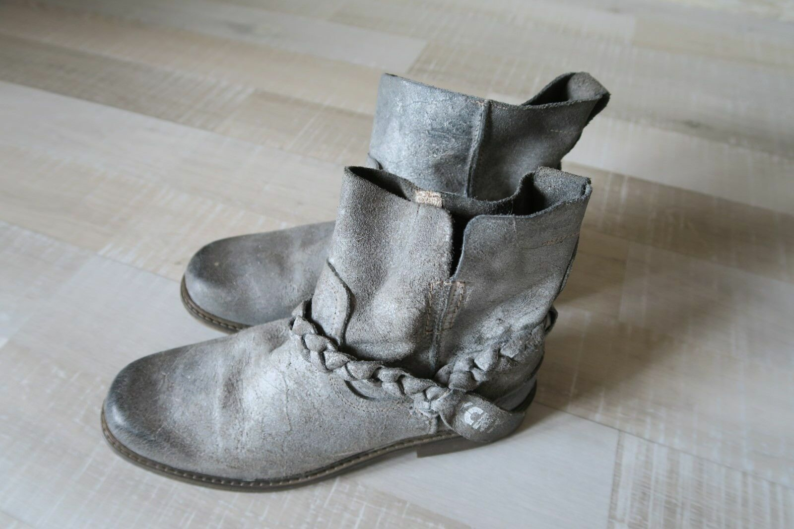 Nata Shoes Portugal Lederstiefelette Stiefelette Lederschuhe High Heels 1454