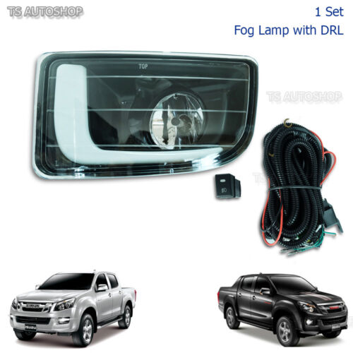 Daytime Running Light DRL Fog Lamp For Isuzu Holden Dmax D-Max 12-15 UTE