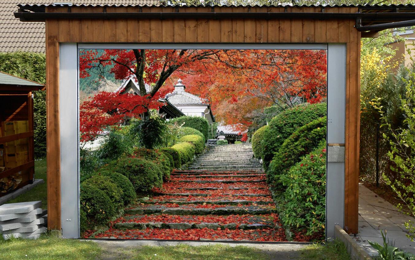 3D Trees Stairs 31 Garage Door Murals Wall Print Decal Wall Deco AJ WALLPAPER IE