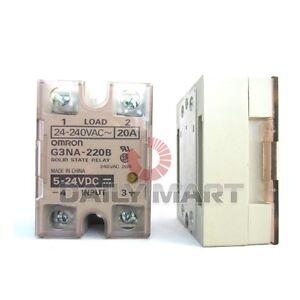 Omron SSR Solid Sate Relay G3NA-220B 240V AC 20A