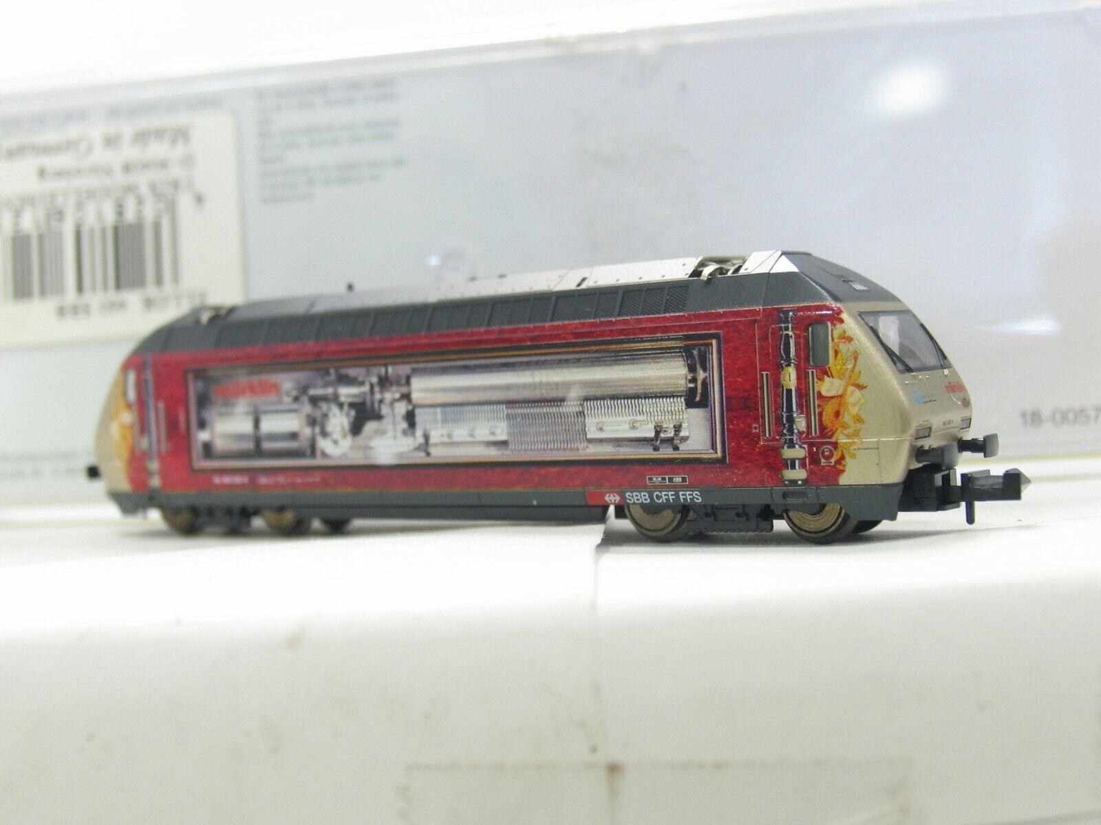 MINITRIX 12784 E-LOK SERIE 460 SWISS Sammlung  der SBB  NH21