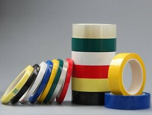 High-Temp Insulation Mylar PET Film Tape for Transformer Battery Capacitor #N00P