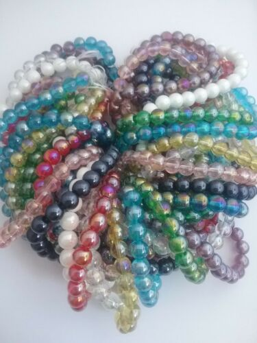 ❤ ❤ Perlas De Vidrio Crystaline ab ❤ ❤ Oferta Promo combinado P /& P ❤