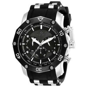 Invicta-28753-Pro-Diver-Chronograph-Stainless-Steel-Men-039-s-Watch-w-Silicone-Band