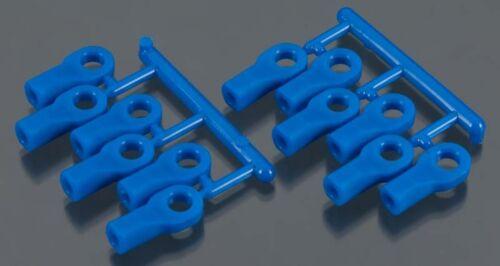 Rod Ends Short Blue 1:10 Traxxas by RPM RPM80475