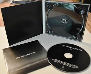 CIGARETTES AFTER SEX Cry CD Neuwertig DIGIPAK Aktuelles ALBUM Meisterwerk KULT!!