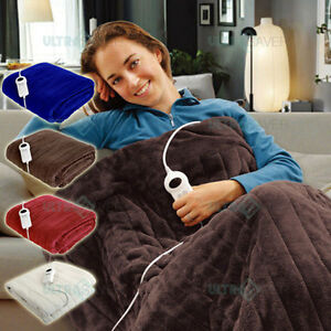Image Is Loading Electric Heated Throw Rug Snuggle Blanket 9 Smart