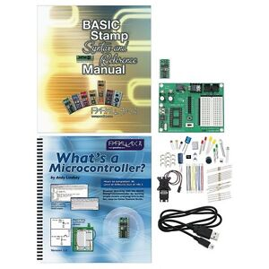 Parallax-27807-BASIC-Stamp-Discovery-Kit-USB-SPECIAL