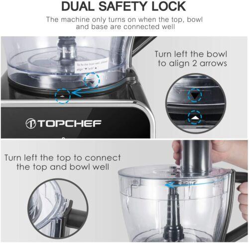 Robot da cucina 1100W impasta Compatto con accessori inclusi 3,5 L classe a