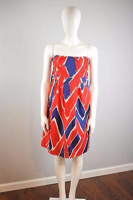 (WE LOVE) VERA Sz 10 $158 Anthropologie Exclusive Strapless Dauntless Dress [3G]