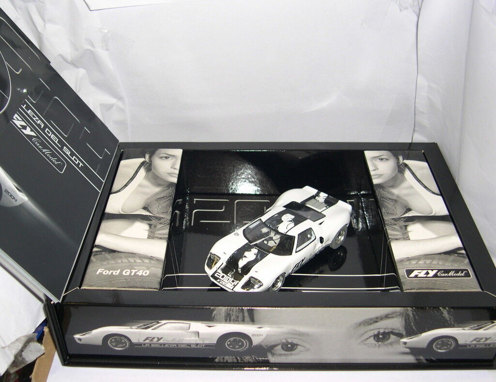 FLY 96033 S2004 SLOT CAR FORD GT 40 EDICION SPECIAL CATALOG 2004 LTED. ED
