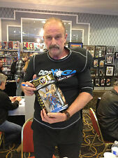 Jake The Snake Roberts Signed WWE Classic Super Star Wrestling Action Figure WOW