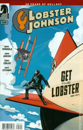 Lobster Johnson Get the Lobster #5 VF 2014 Stock Image