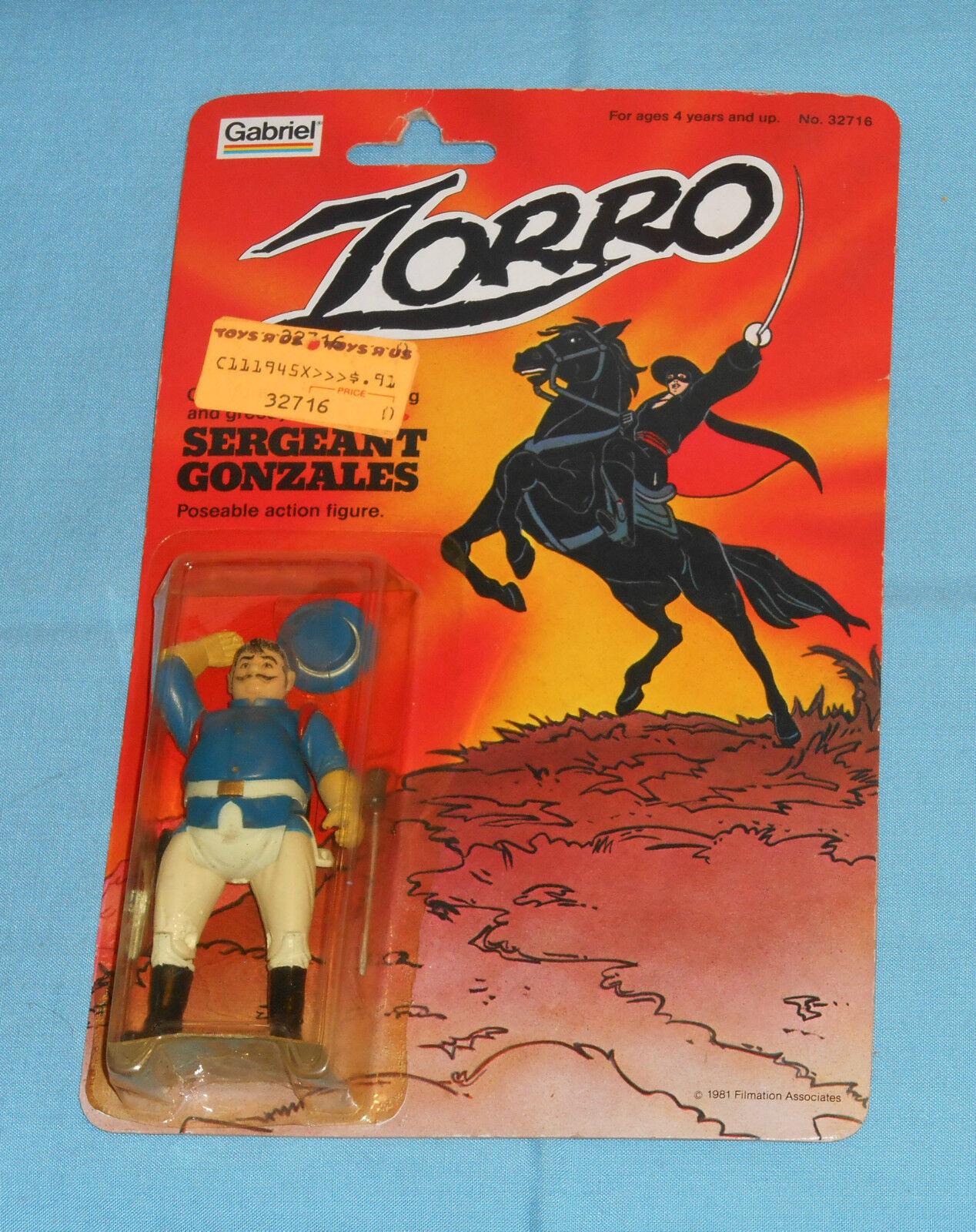 Vintage Gabriel Zorro SERGEANT GONZALES MOC
