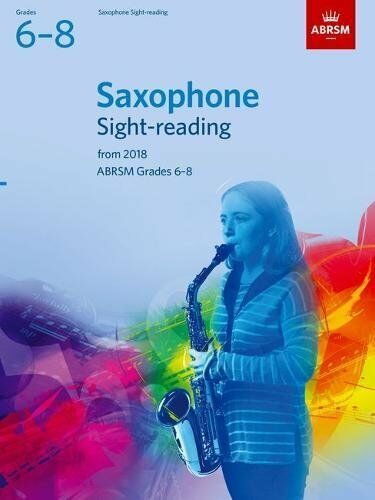 Same Day P+P ABRSM Saxophone Sight-reading Grades 6-8 from 2018