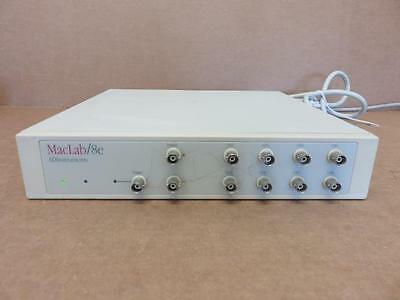 AD Instruments MacLab / 8E Data Acquisition System 8-Channel