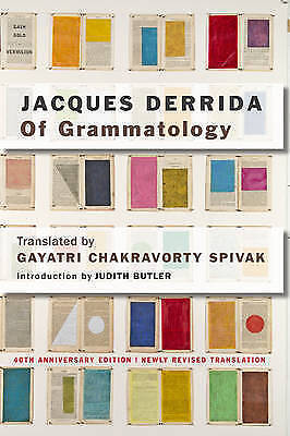 1 of 1 - Of Grammatology by Jacques Derrida (Paperback, 2016)