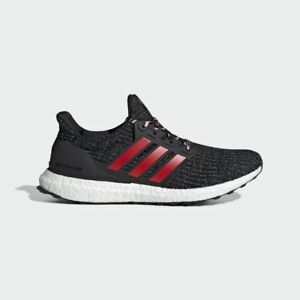 MENS RUNNING SHOE ADIDAS ULTRABOOST F35231 BLACK RED WHITE SIZE: 8.5 191529087839 | eBay