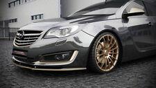 Spoilerlippe Frontspoiler Schwert Diffusor Ansatz für Opel Insignia ab Bj. 2013