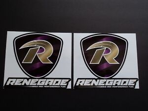 Renegade Race Fuel >> Details About Lot Of 2 Renegade Race Fuels Racing Decals Stickers Die Cut Ama Pro