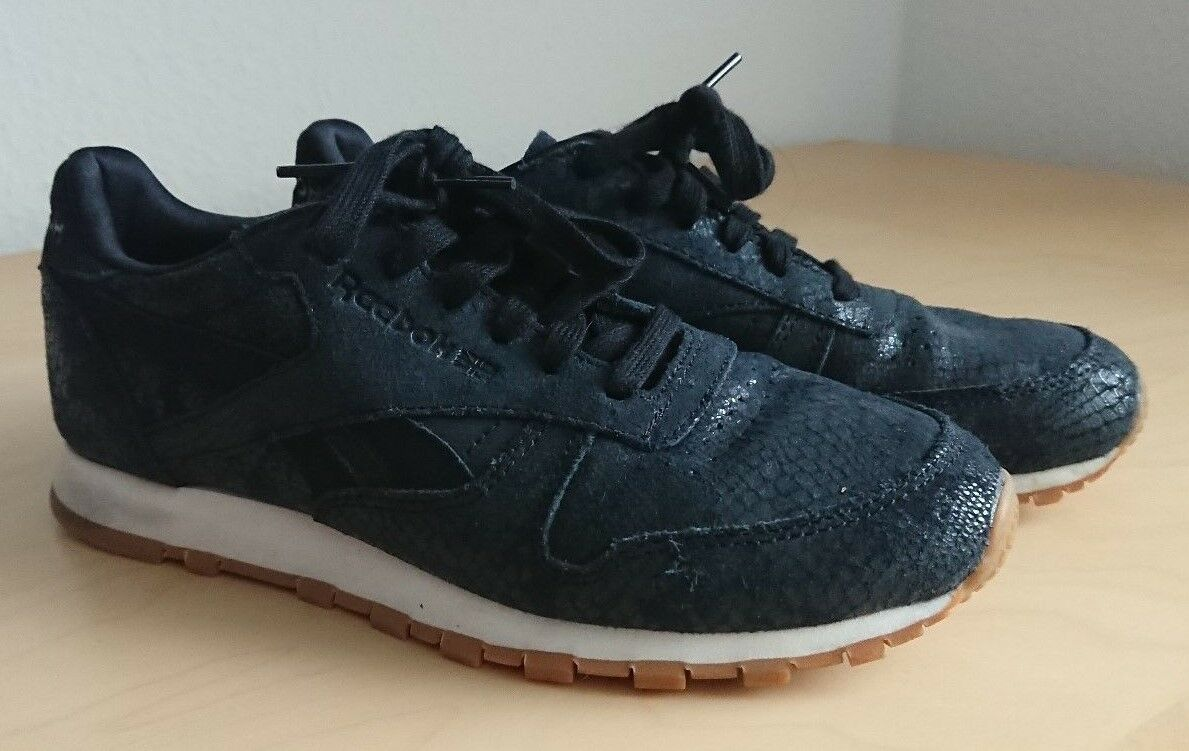 Reebok Sneaker, schwarz, Gr. 37,5