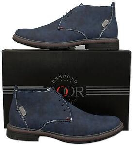 Desert Nouveau bleu cuir Taille 8 7 11 style 9 Boot 6 Ankle 12 10 Desert dq4Iqxr