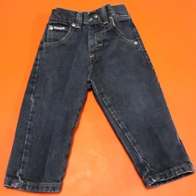 2019 Latest Design Dark Blue Heavy Duty Quality Jeans By Wrangler: Size 18m Unisex 100% Original