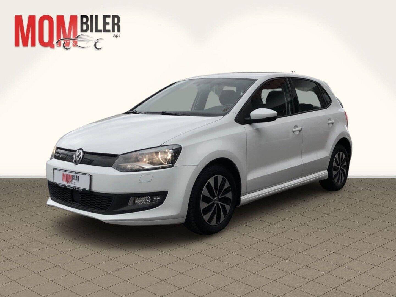 VW Polo 1,4 TDi 75 BlueMotion 5d - 109.900 kr.