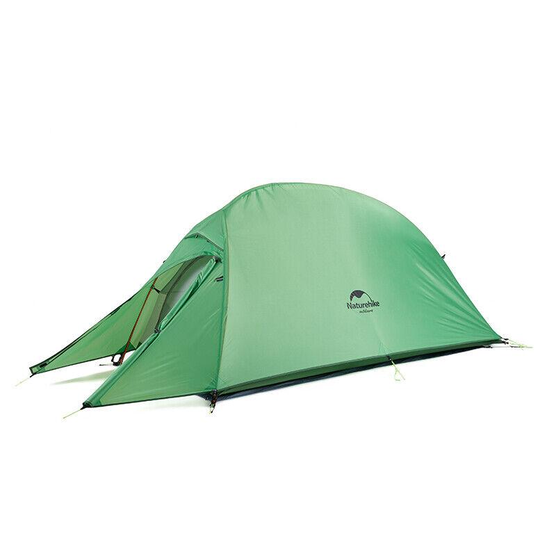Naturehike Upgraded Cloud Up 1 Person Zelt 3 Saison Leichtes Wander Camping Zelt