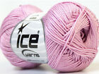 Lot of 6 Skeins Ice Yarns CAMILLA COTTON (100% Mercerized Cotton) Yarn Lilac
