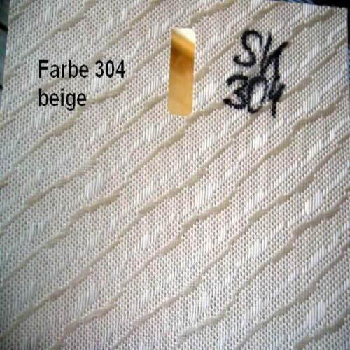 Polyester replacement slat 127 mm Measure Custom 260 cm Long Color SK 304 Beige