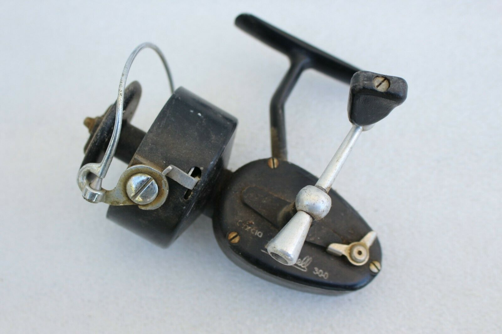 1959 Vintage Garcia Mitchell 300 Spinning Fishing Reel Collector Rare SN 2477877
