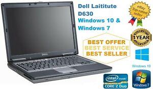 CHEAP-DELL-D630-620-LATITUDE-14-1-034-Core2Duo-Laptop-WIND-7-10-500GB-4GB-RAM-Wi-Fi