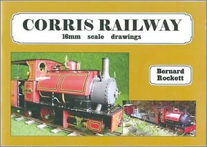 Details about Corris Railway 16mm scale drawings by Bernard Rocket loco  coaches garden