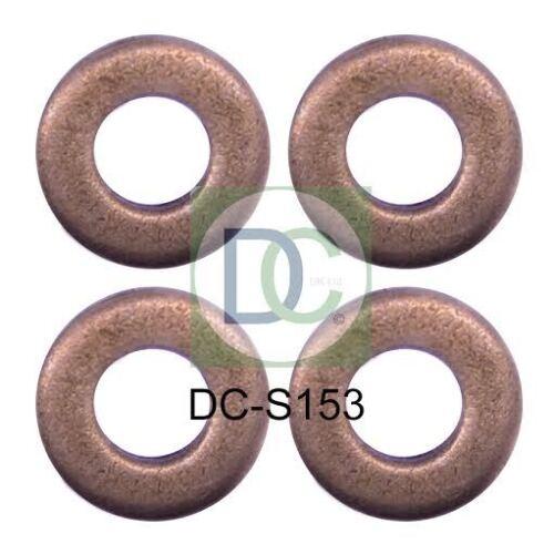 CITROEN DS3 1.6 HDi Bosch Common Rail Diesel Iniettore RONDELLE Sigilli confezione da 4