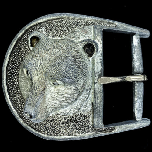 3-D Grizzly Bear Animal Gift Western Cowboy Nature