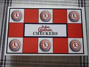 St-Louis-Cardinals-Baseball-Checkers-MLB-Game-rivals-Chicago-cubs