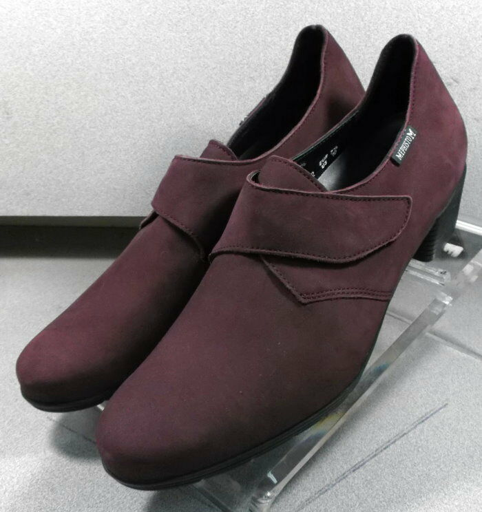 MNP1011181 MNP1011181 MNP1011181 WINE LMPF60 Women's shoes Size 10 (EUR 7.5) Leather Heels  Mephisto 0c1077