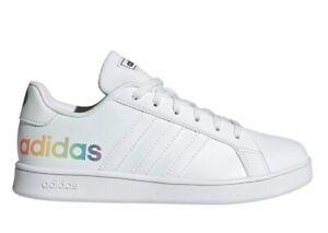 Scarpe da donna Adidas H02289 sneakers casual sportive tennis ginnastica bianche
