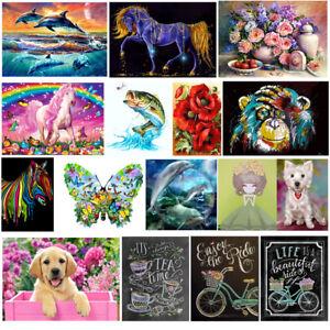 5D-DIY-Diamond-Painting-Animal-Embroidery-Cross-Craft-Stitch-Kit-Home-Decor-Art