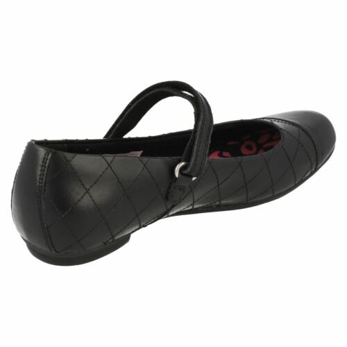Clarks bootleg /'Kimberly Gem/' black  smart school shoes